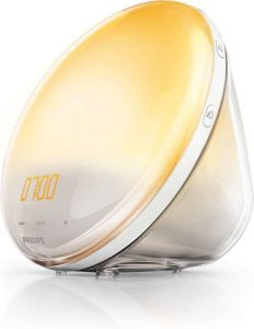 wake up light philips 3520